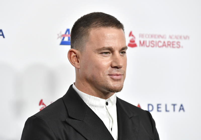 Channing Tatum attends MusiCares Person of the Year on January 24, 2020. (Photo by Frazer Harrison/Getty Images for The Recording Academy)