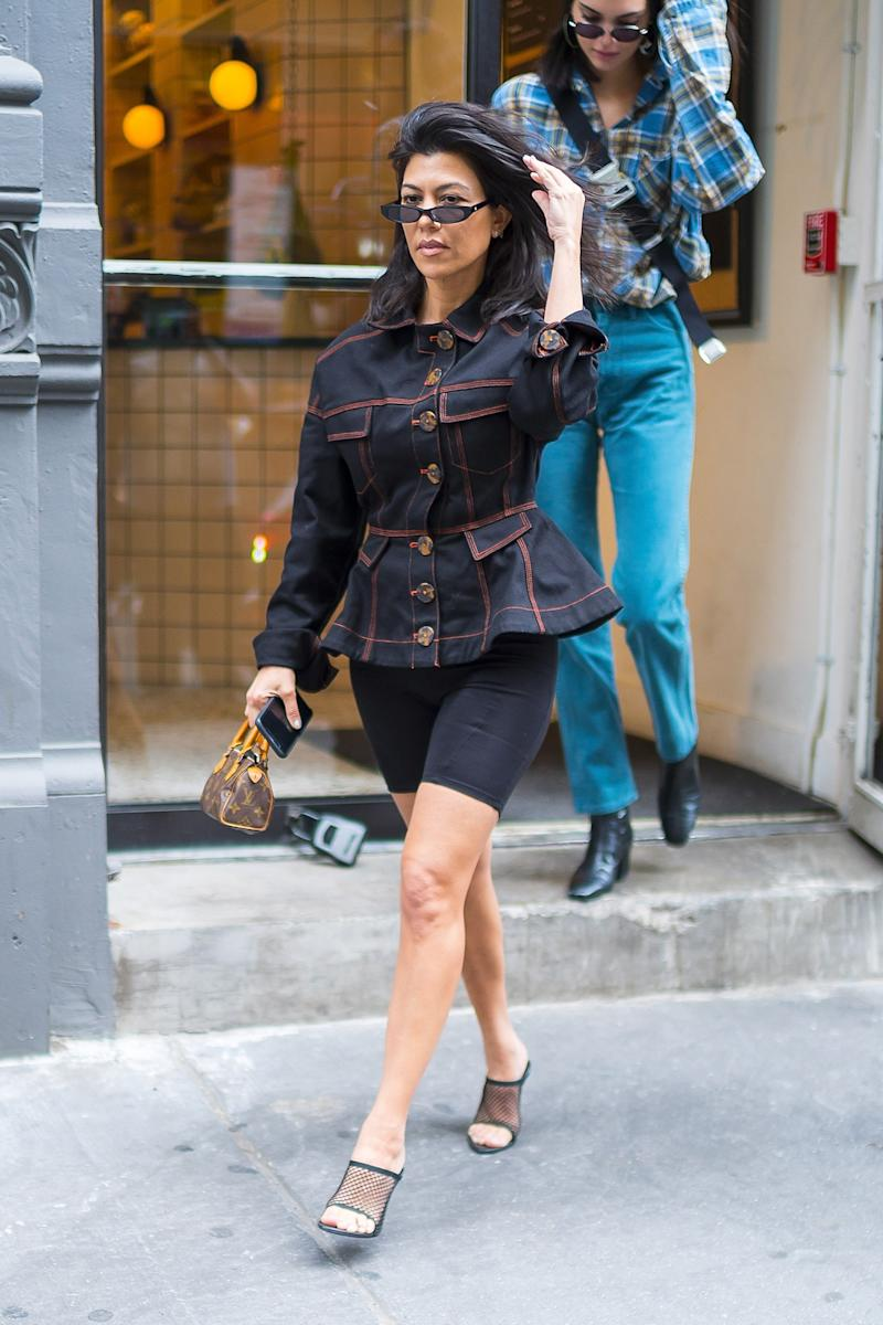 Kourtney Kardashian is seen in NoHo on June 5, 2018 in New York City. Photo courtesy of Getty Images.