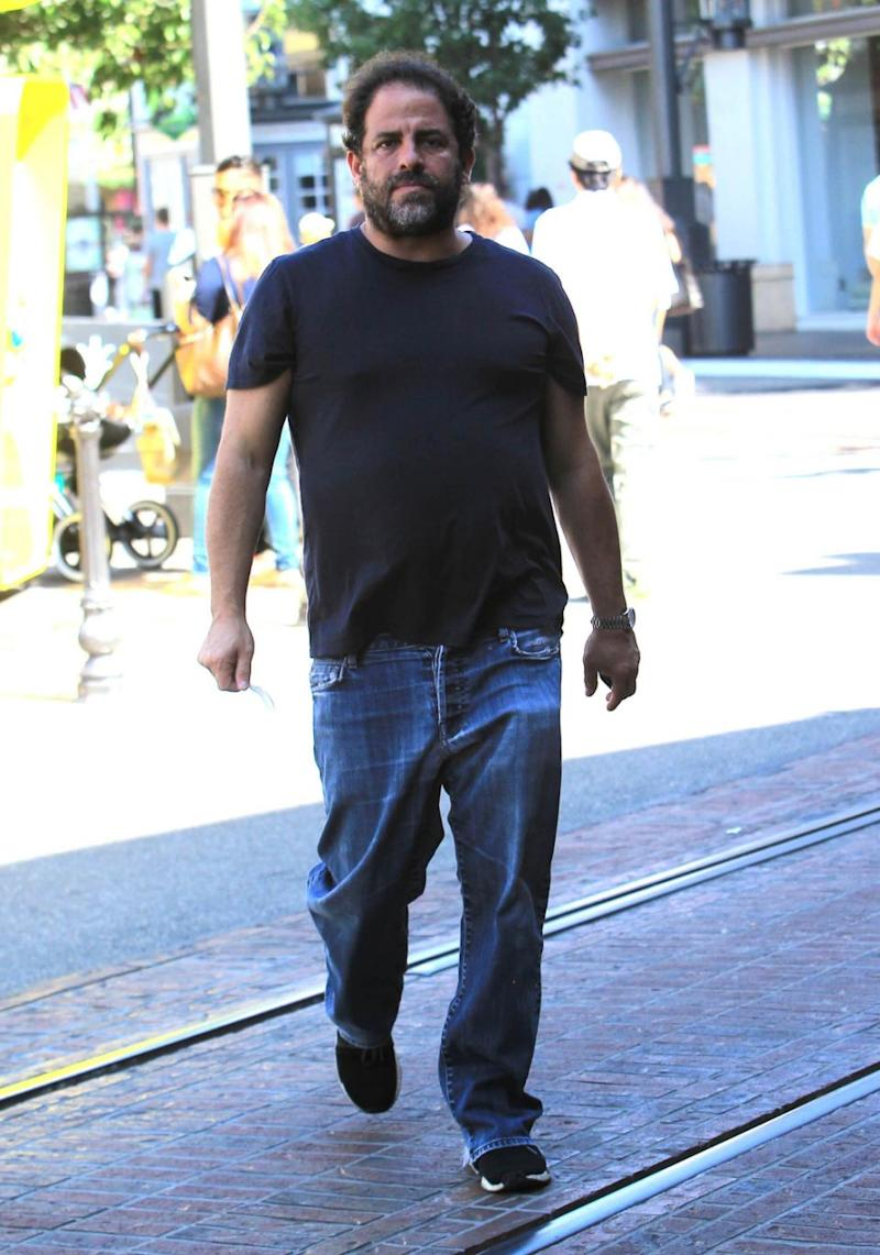 Brett Ratner (here in out in Los Angeles) has been accused of sexual misconduct or harassment by six actresses. Source: Getty
