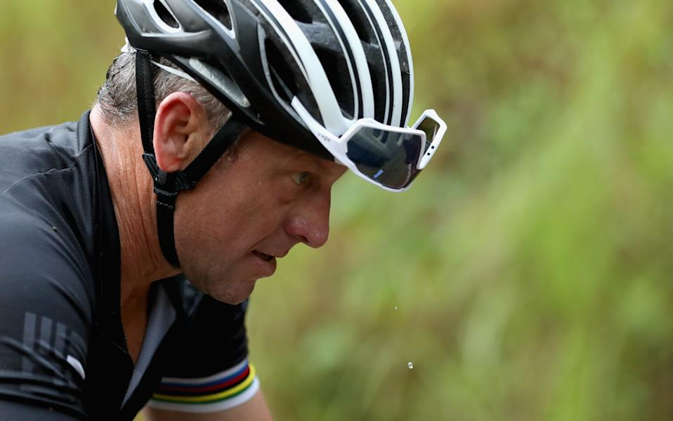 """ESPN is following up """"The Last Dance"""" with a look at Lance Armstrong. (Photo by Ezra Shaw/Getty Images)"""