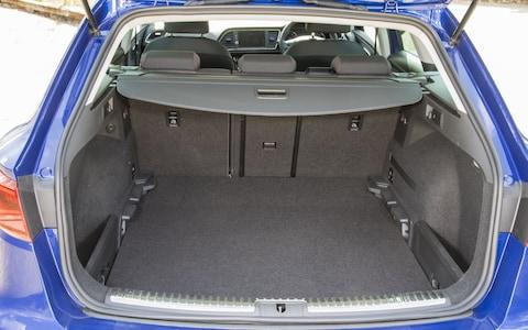 2017 Seat Leon ST boot space