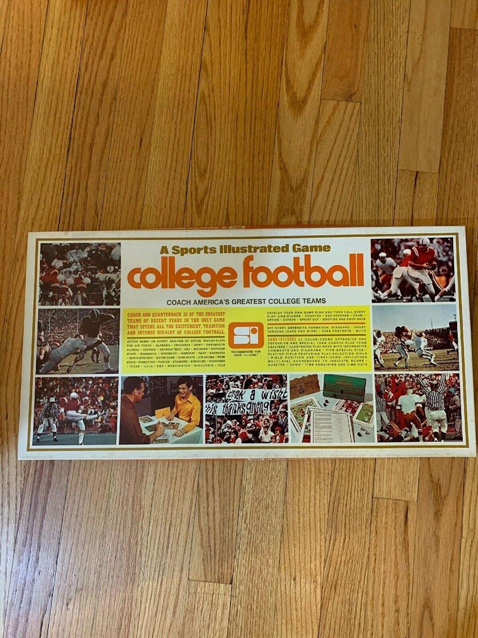 <p>Sports fans have always been some of the most devoted fans, ready to buy tons of memorabilia to support their favorite team. In 1971, <em>Sports Illustrated </em>got into the game by creating its first baseball board game. For the next two years, they released new editions to feature the most recent baseball season. Long-time baseball fans, check to see if any of these board games are lodged between Monopoly and Scrabble. </p><p><strong>What it's worth: </strong>$90-$275</p>