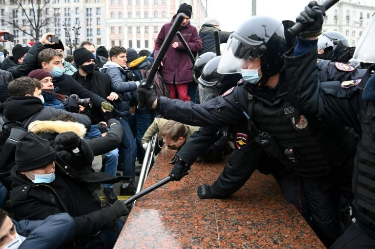The weekend demonstrations were the biggest in Russia for years