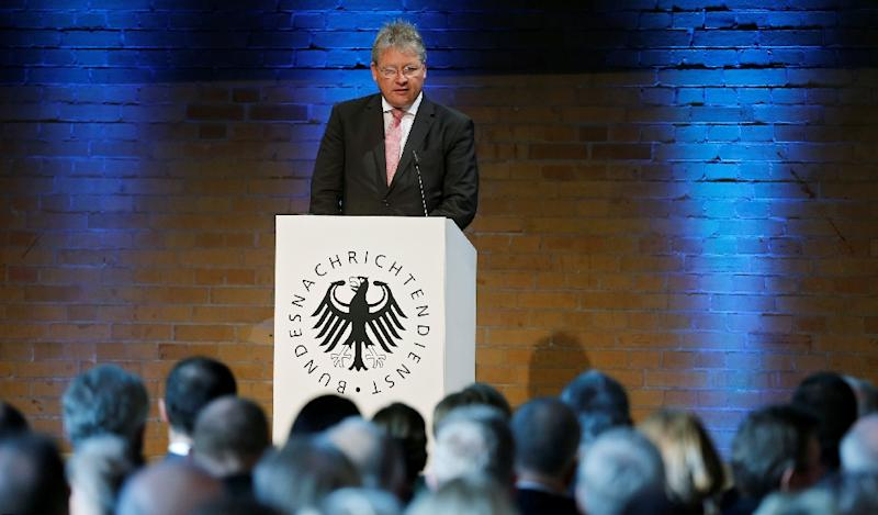 Germany's Bruno Kahl says cyberattacks are taking place to sow political uncertainty (AFP Photo/Hannibal Hanschke)