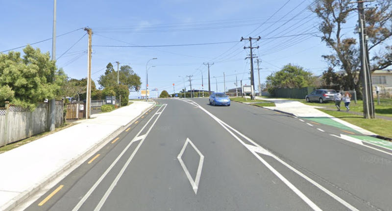 Lake Road, Northcote in Auckland is pictured.