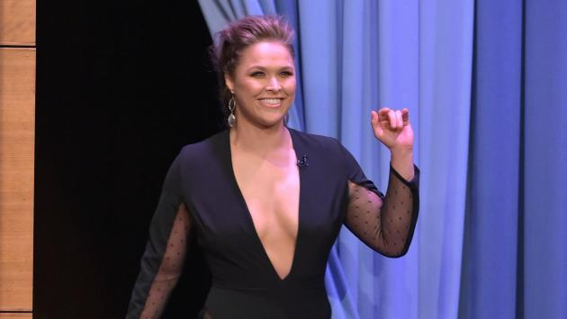 <p>Ronda Rousey engaged to fellow UFC fighter Travis Browne</p>