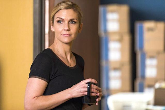 Rhea Seehorn as Kim Wexler on AMC's <em>Better Call Saul</em>. (Photo: Michele K. Short/AMC)