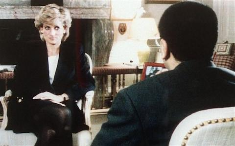 <span>Diana gives her shock interview on Panorama in 1995.</span>