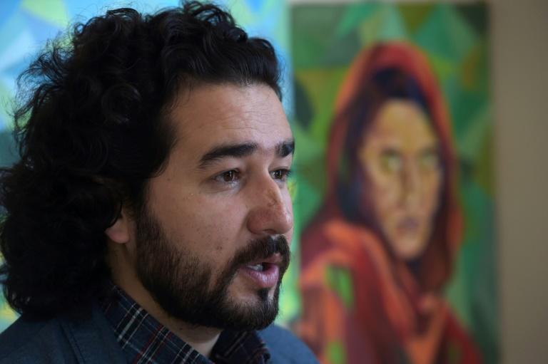 Artlords co-founder and president Omaid Sharifi has helped turned Kabul's grey maze of concrete barricades into a canvas to tackle issues such as rampant corruption and abuse of power