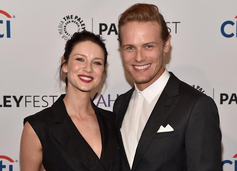Heughan and balfe dating services