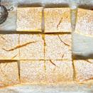 """Meyer lemons are less acidic than regular lemons, which makes these bars especially crowd-pleasing. <a href=""""https://www.epicurious.com/recipes/food/views/meyer-lemon-bars-51256850?mbid=synd_yahoo_rss"""" rel=""""nofollow noopener"""" target=""""_blank"""" data-ylk=""""slk:See recipe."""" class=""""link rapid-noclick-resp"""">See recipe.</a>"""