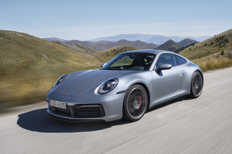 Porsche Shows Off New Edition Of Mainstay 911 Sports Car