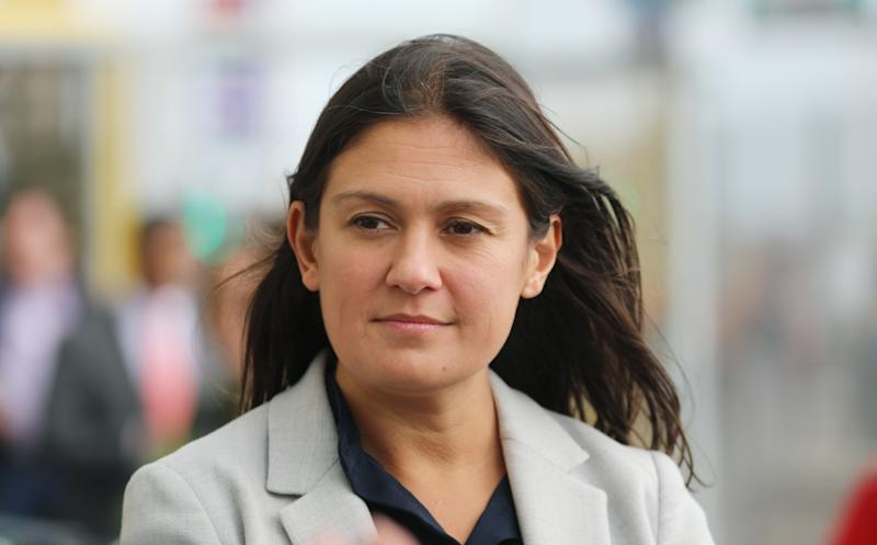 Lisa Nandy, MP for Wigan, during the Labour Party annual conference at the Brighton Centre in Brighton. Picture dated: Tuesday September 24, 2019. Photo credit should read: Isabel Infantes / EMPICS Entertainment.