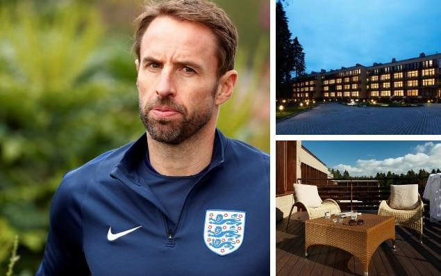 England will base themselves just north of St Petersburg ahead of next summer's World Cup finals