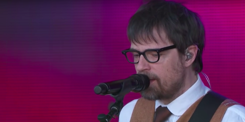 """Watch Weezer Play """"Africa"""" With a Toto Member on """"Kimmel"""""""
