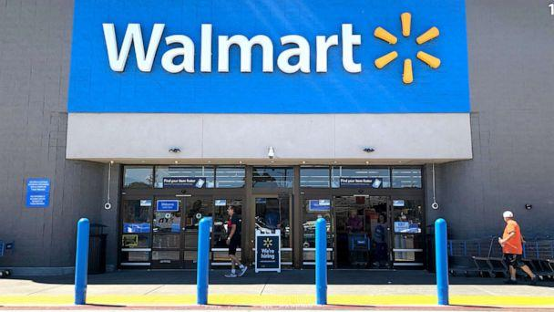 PHOTO: Customers enter a Walmart store, Sept. 3, 2019. (Justin Sullivan/Getty Images)