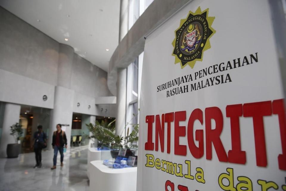 The Malaysian Anti-Corruption Commission (MACC) confirmed the arrest of a politician with two company directors during a sting in Ipoh. — File picture by Choo Choy May