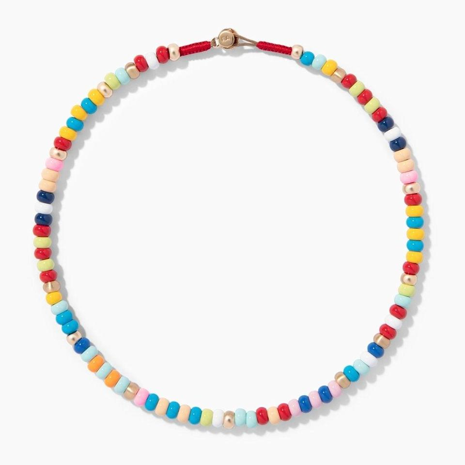 <p><span>Roxanne Assoulin Loopy Necklace</span> ($150)</p>