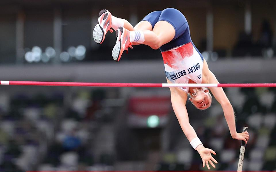 Bradshaw clears 4.85m - GETTY IMAGES