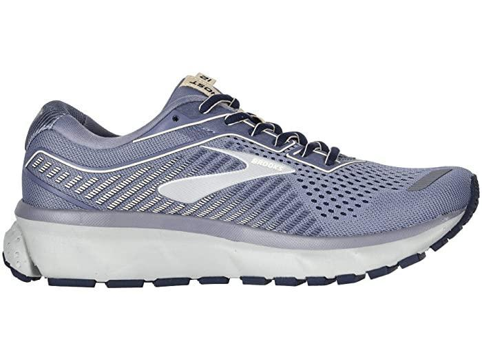 """All I can say about these Brooks running shoes is 'wow.' I spent forever researching what model to buy before settling on the Brooks Ghost 12—and after four months of non-stop wear, I can honestly vouch for every five-star review out there. The soles are like soft pillows for your feet, and the shoe fits right above the heel so your ankle never slips out while running. The most important thing though is that it absorbs the impact when you're pounding on the pavement (no more ankle pain for me!), and even with all the miles I've logged so far, they still feel like new. —<em>Talia Abbas, commerce writer</em> $130, Zappos. <a href=""""https://www.zappos.com/p/brooks-ghost-12-granite-peacoat-peach/product/9223534/color/810924"""" rel=""""nofollow noopener"""" target=""""_blank"""" data-ylk=""""slk:Get it now!"""" class=""""link rapid-noclick-resp"""">Get it now!</a>"""