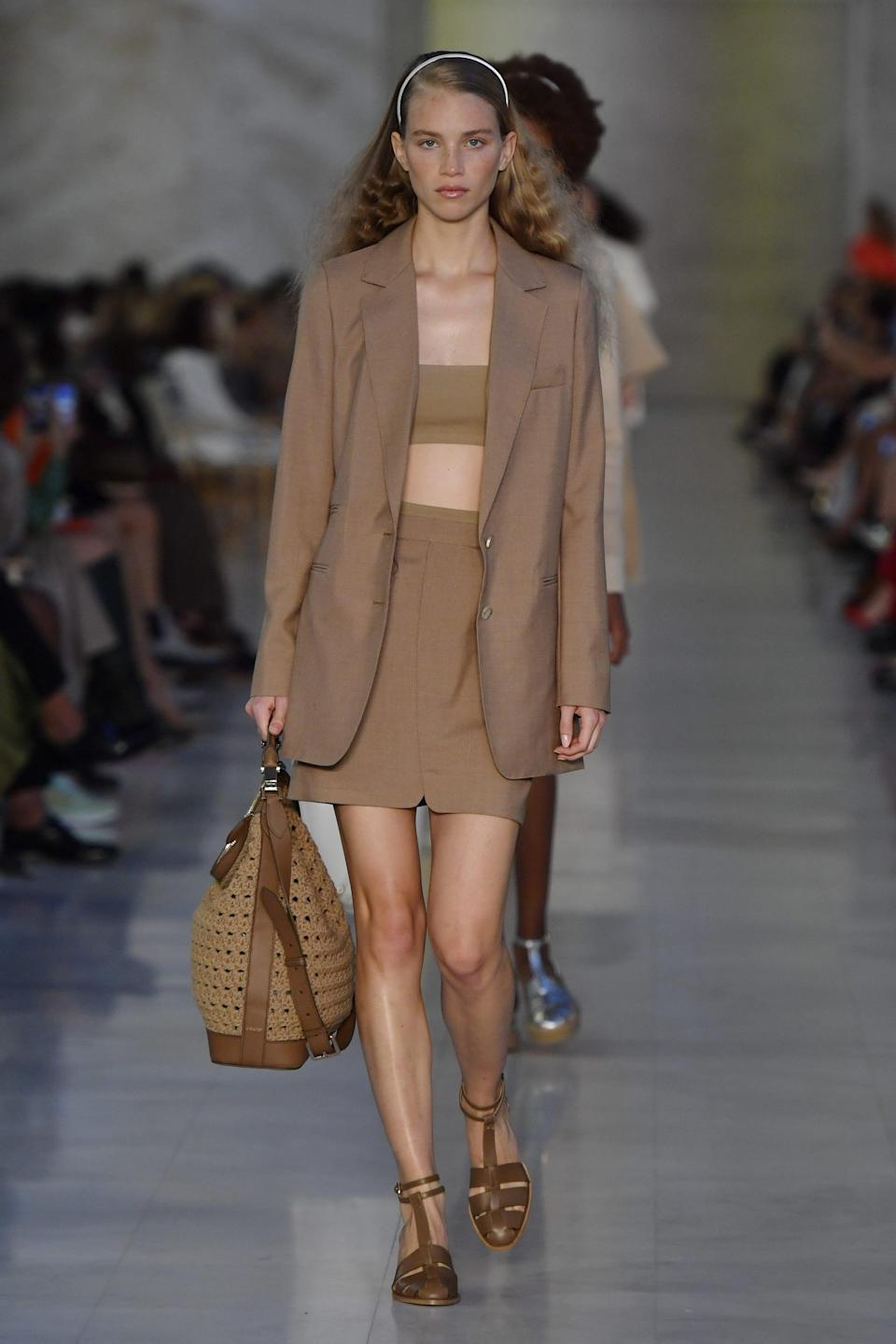 <p>A bag from Max Mara spring 2022 collection.</p>