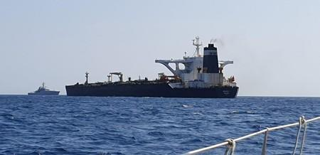 Iran calls on Britain to release seized oil tanker immediately