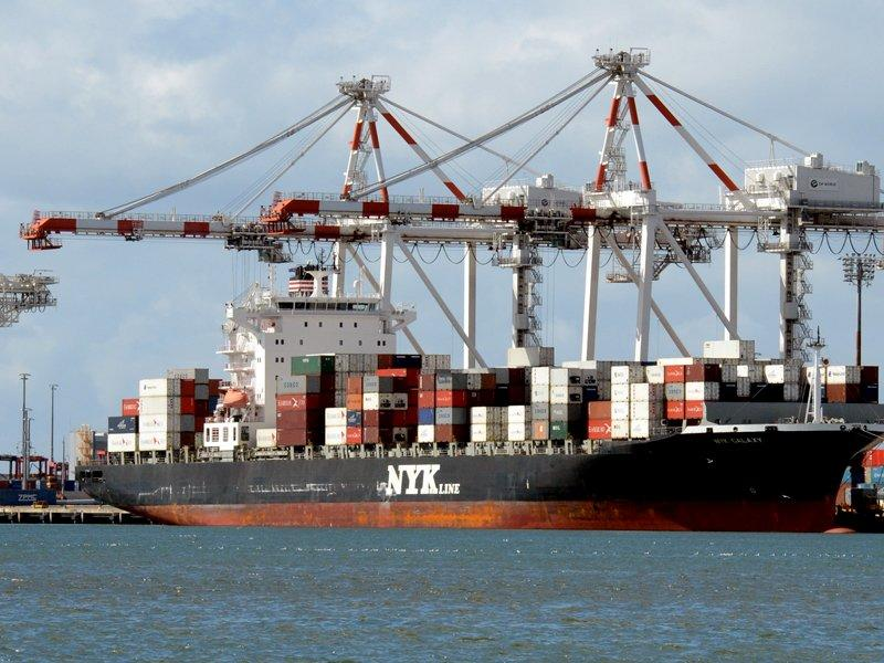 Trade deficit widens on commodities drop