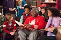 """<p><b>Paramount+'s Description:</b> """"Alex received the best Christmas present from his Uncle Charlie - Santa's very own pipe. But when he tried to share his evidence with the world, he was met with pranks from non-believers. Alex sets out to prove Santa is real.""""</p> <p><a href=""""https://www.paramountplus.com/movies/santa-hunters/ntSebzB_InFR27vpe7X76KBabphvVBDY/"""" class=""""link rapid-noclick-resp"""" rel=""""nofollow noopener"""" target=""""_blank"""" data-ylk=""""slk:Watch Santa Hunters on Paramount+ here!"""">Watch <strong>Santa Hunters</strong> on Paramount+ here!</a></p>"""