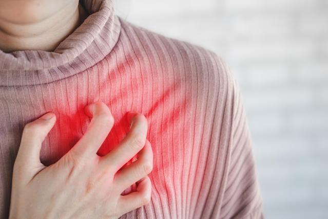 Chronic inflammation can affect heart health. (Getty Images)