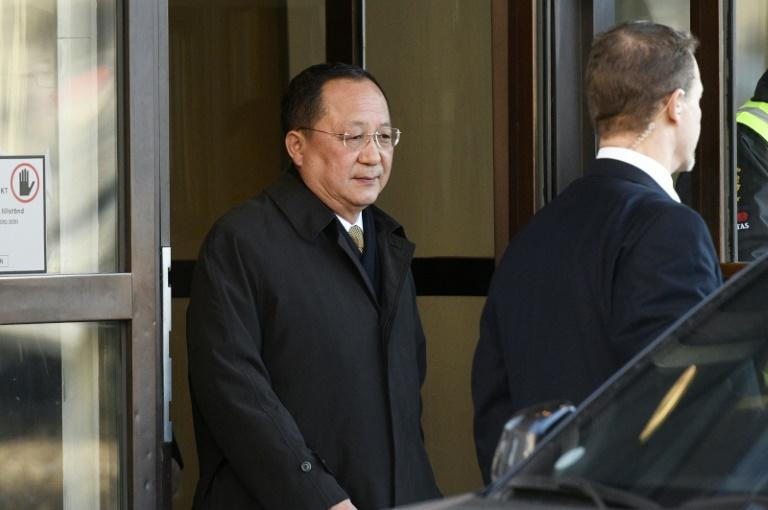 N. Korean Foreign Minister Extends Stay in Sweden