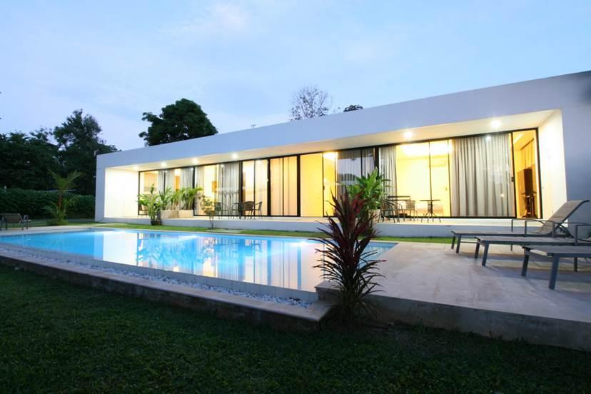 """<a href=""""https://www.airbnb.com/rooms/2168594""""><strong>White Breeze Apartment</strong></a><strong>, Phuket, Thailand Wish Listed 204,110 times</strong> Paradise has been found for those looking for rest in this villa located in Thailand. The beautiful hillside setting allows guests to enjoy coffee whilst taking in warm sunsets on the terrace and a private pool. Let's not forget the staff will bring you fresh papaya picked from papaya trees onsite — relaxation mode on."""