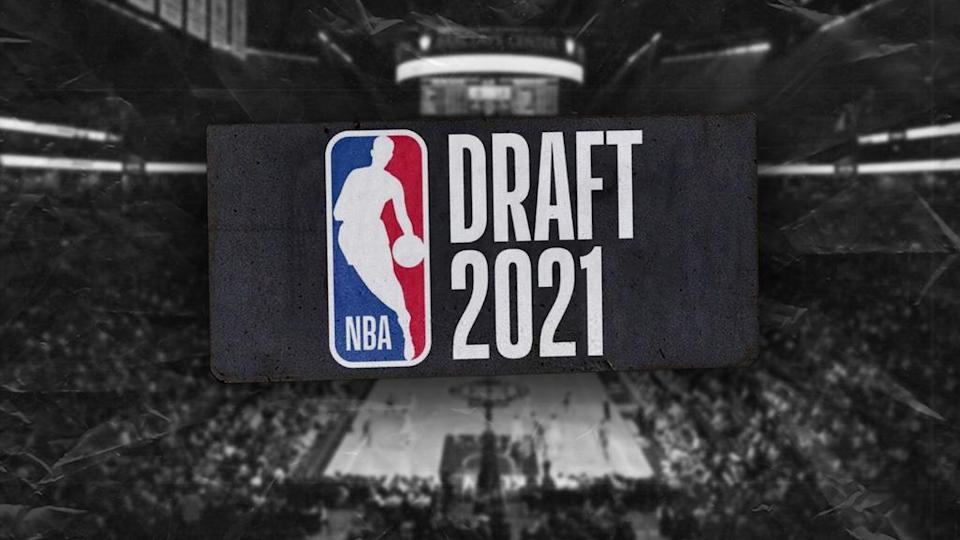 Nets 2021 NBA Draft Treated Image with Barclays in background