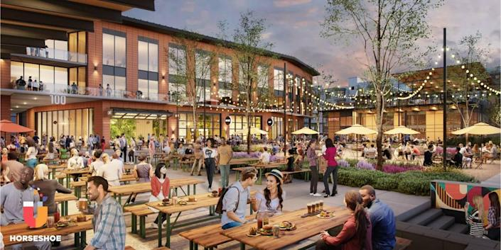 White Point's Horseshoe at Hub RTP development will add 125,000 square feet of mixed-use space.