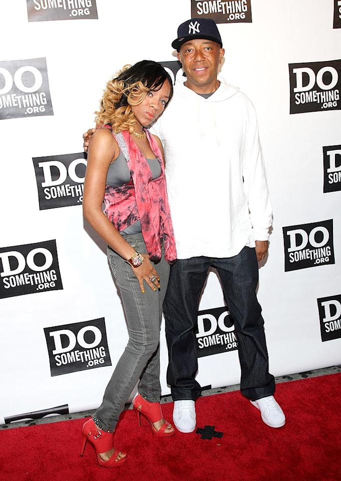 "Lil Mama and Russell Simmons attend the sixth annual Do Something Awards at Harlem's Apollo Theater. The event recognizes people who try to make the world a better place. Jason Kempin/<a href=""http://www.wireimage.com"" target=""new"">WireImage.com</a> - June 4, 2009"