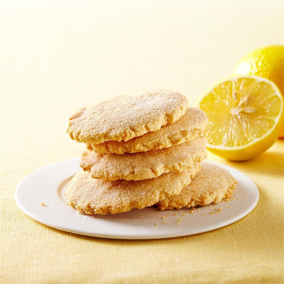 <p>These lemon cookies are made healthier with whole-wheat pastry flour and they get their zippy flavor from fresh lemon zest and juice rather than lemon extract. This lemon cookie recipe would be the perfect accompaniment to afternoon tea.</p>