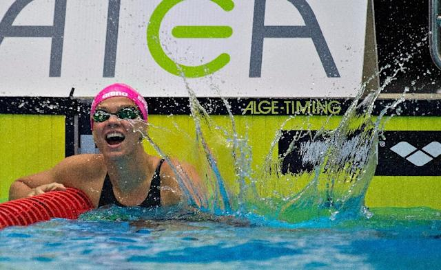 Yulia Efimova will be joining her teammates in Brazil for the Rio Olympics next month (AFP Photo/Claus Fisker)