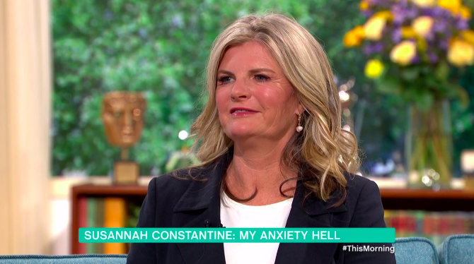 Susannah Constantine has opened up about living with anxiety in secret (Credit: ITV)