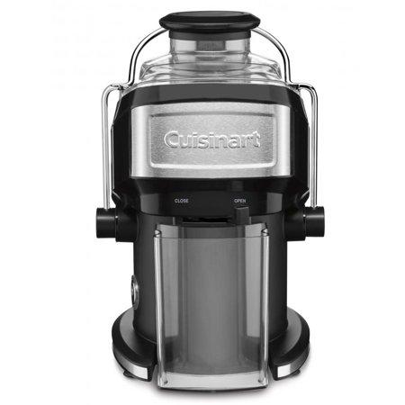 """<p><strong>Cuisinart</strong></p><p>walmart.com</p><p><strong>$99.95</strong></p><p><a href=""""https://go.redirectingat.com?id=74968X1596630&url=https%3A%2F%2Fwww.walmart.com%2Fip%2F27330945&sref=http%3A%2F%2Fwww.womenshealthmag.com%2Ffood%2Fg29892433%2Fbest-juicer%2F"""" target=""""_blank"""">Shop Now</a></p><p>Ideal for anyone with a tiny kitchen, this petite juicer easily fits on almost any counter. This super-speedy machine handled all the carrots, apples, kale, and cukes the WH Test Kitchen threw its way without jamming or blocking. Plus, the little suction cups on the bottom help keep it in place during powerful juice-pressing. </p>"""
