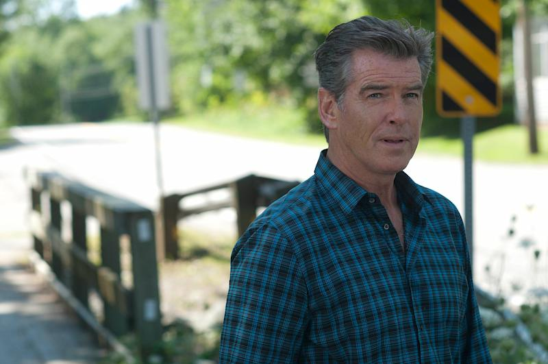 Pierce Brosnan stars in Garris's adaptation of 'Bag of Bones' (Photo: Chris Reardon/©A&E/courtesy Everett Collection)