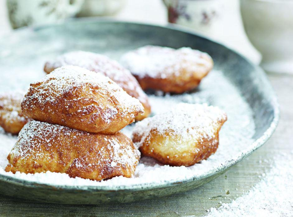 """<p>Buttermilk beignets are one of <a href=""""https://www.thedailymeal.com/eat/iconic-restaurant-dishes?referrer=yahoo&category=beauty_food&include_utm=1&utm_medium=referral&utm_source=yahoo&utm_campaign=feed"""" rel=""""nofollow noopener"""" target=""""_blank"""" data-ylk=""""slk:the most iconic dishes in America"""" class=""""link rapid-noclick-resp"""">the most iconic dishes in America</a>. Make this New Orleans classic at home, and don't forget to load 'em up with powdered sugar.</p> <p><a href=""""https://www.thedailymeal.com/recipes/buttermilk-beignets-new-orleans-recipe?referrer=yahoo&category=beauty_food&include_utm=1&utm_medium=referral&utm_source=yahoo&utm_campaign=feed"""" rel=""""nofollow noopener"""" target=""""_blank"""" data-ylk=""""slk:For the Buttermilk Beignets recipe, click here."""" class=""""link rapid-noclick-resp"""">For the Buttermilk Beignets recipe, click here.</a></p>"""