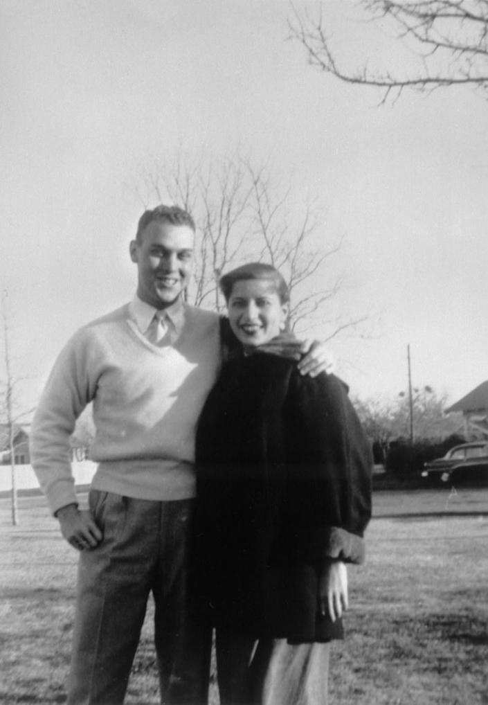 Martin Ginsburg and Ruth Bader Ginsburg in Fort Sill, Okla. Martin Ginsburg was drafted into the Army in 1954. (Photo: Supreme Court of the United States)