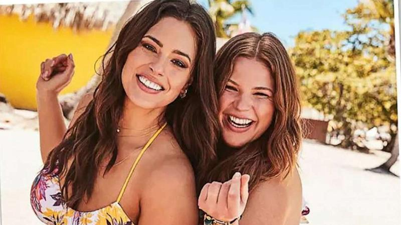 Ashley Graham and sister Abigail star in new swimsuit campaign together