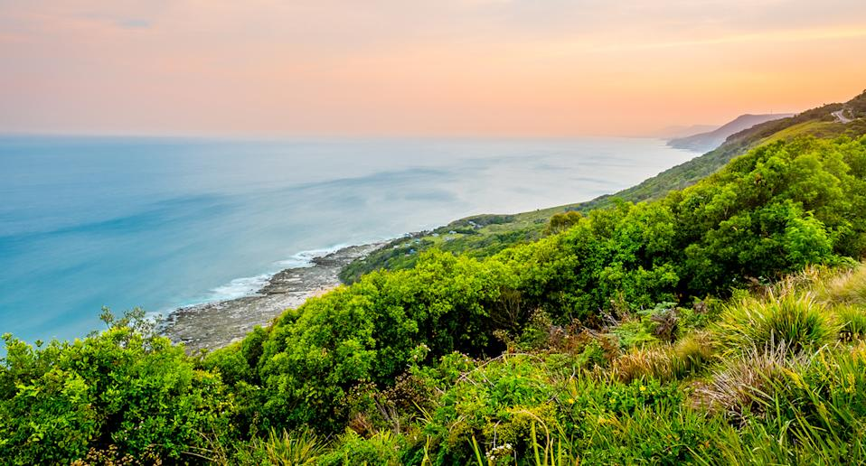 The Otford Lookout at the Royal National Park in NSW.