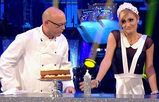 The Masterchef star was the first celebrity eliminated from his series, which he put down to the fact that his professional partner wasn&rsquo;t exactly his biggest fan.<br /><br />&ldquo;I love dancing, but if I were paired with somebody who liked me then I would have done better,&rdquo; he said. <br /><br />Following their elimination, Aliona also retweeted a number of messages calling for her to get a better partner in future series, with select messages including &ldquo;could someone please give Aliona a decent partner next year&rdquo;.<br /><br />As it goes, the following year would see her lifting the Glitterball trophy with help from former The Wanted singer Jay McGuiness.