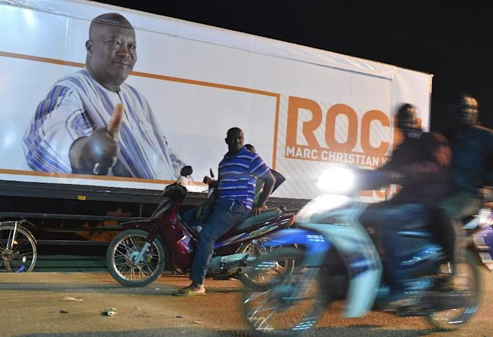 Supporters of Burkina Faso's new president Roch Marc Christian Kabore celebrate in Ouagadougou on December 1, 2015 (AFP Photo/Issouf Sanogo)