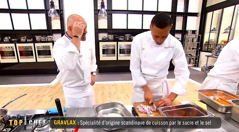 top chef le choix os d 39 une recette de wilfried bluffe philippe etchebest video. Black Bedroom Furniture Sets. Home Design Ideas