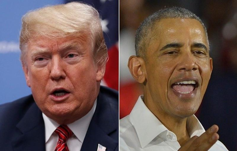 "President Donald Trump is the ""most tweeted about political figure"" of the year while former President Barack Obama has tweets that rank high in the ""most liked"" and ""most quoted"" categories."