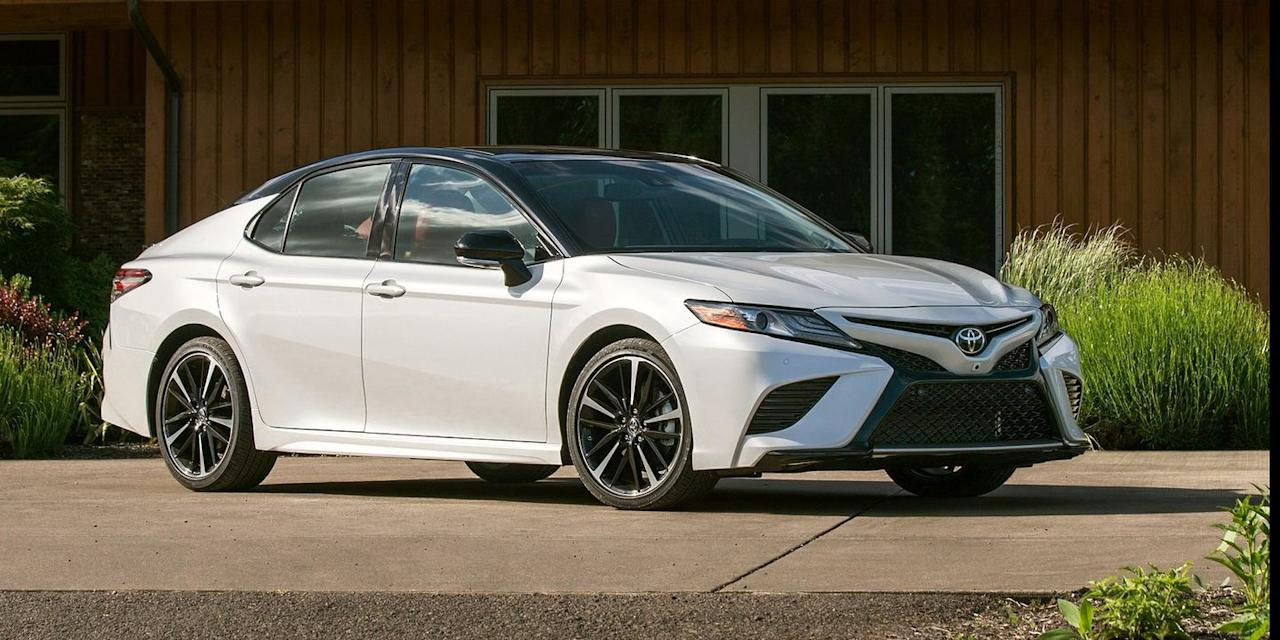 """<p>We bet you weren't expecting to see this here. <a rel=""""nofollow"""" href=""""https://www.roadandtrack.com/car-culture/a20112603/toyota-camry-vs-lotus-evora-400-track-test/"""">The Toyota Camry</a> gets an optional 301-hp, 3.5-liter V6 for the 2018 model year. It's a strong motor, and it's got some genuine sports-car pedigree, thanks to the Lotus Evora. </p>"""
