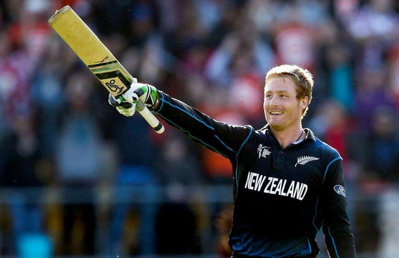 Martin Guptill while playing for New Zealand during the ICC World Cup 2015.