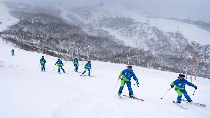 Hokkaido's snowy slopes are highly dependent on tourists
